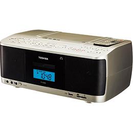 SD/USB/CDラジカセ TY-CDX9(N)(サテンゴールド)